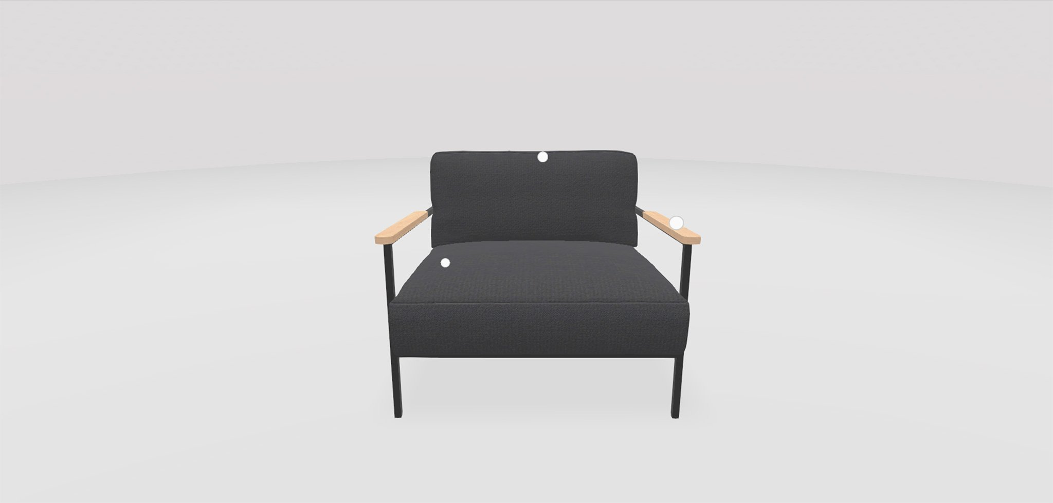 henk-3d-configurator-chair-grey-front-close
